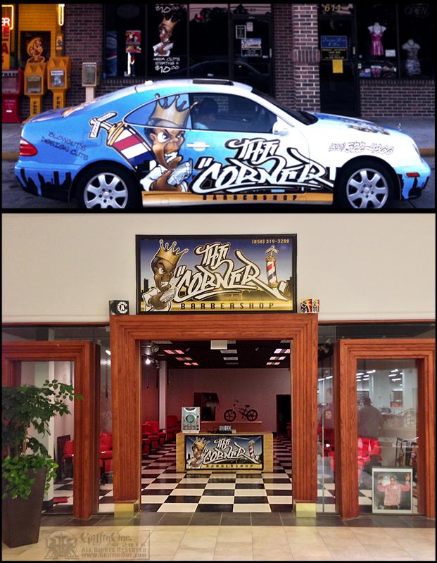 """The Corner Barbershop"""