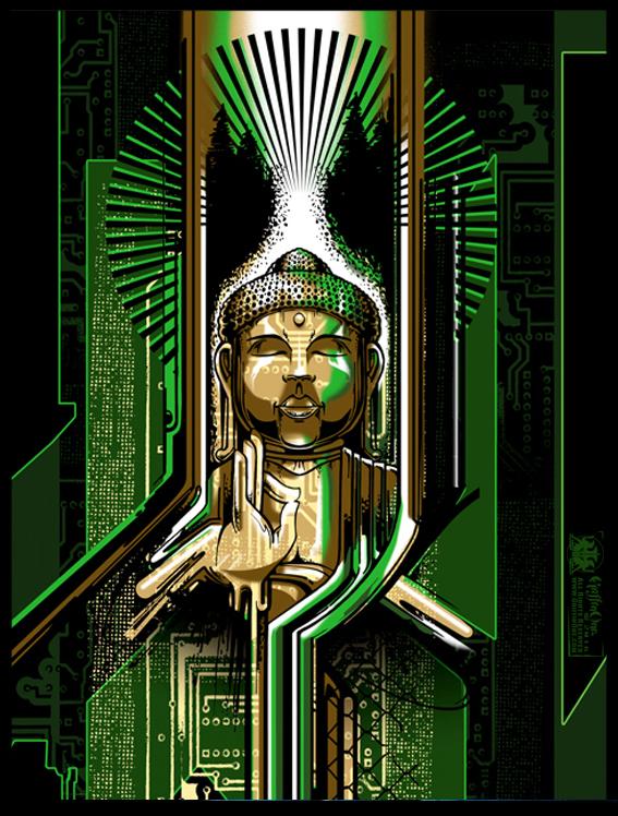 """""""Digital Buddha"""""""