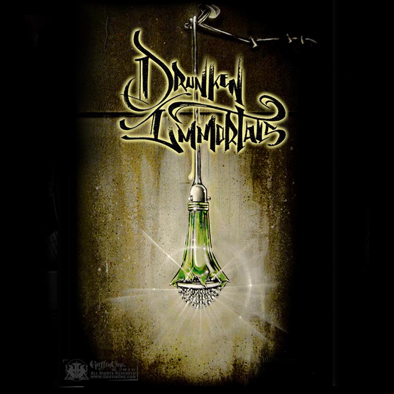"""""""Drunken Immortals"""" - Poster"""