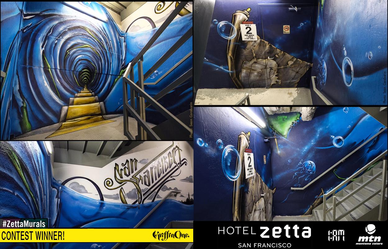 """""""Zetta Hotel Mural"""" - SF"""