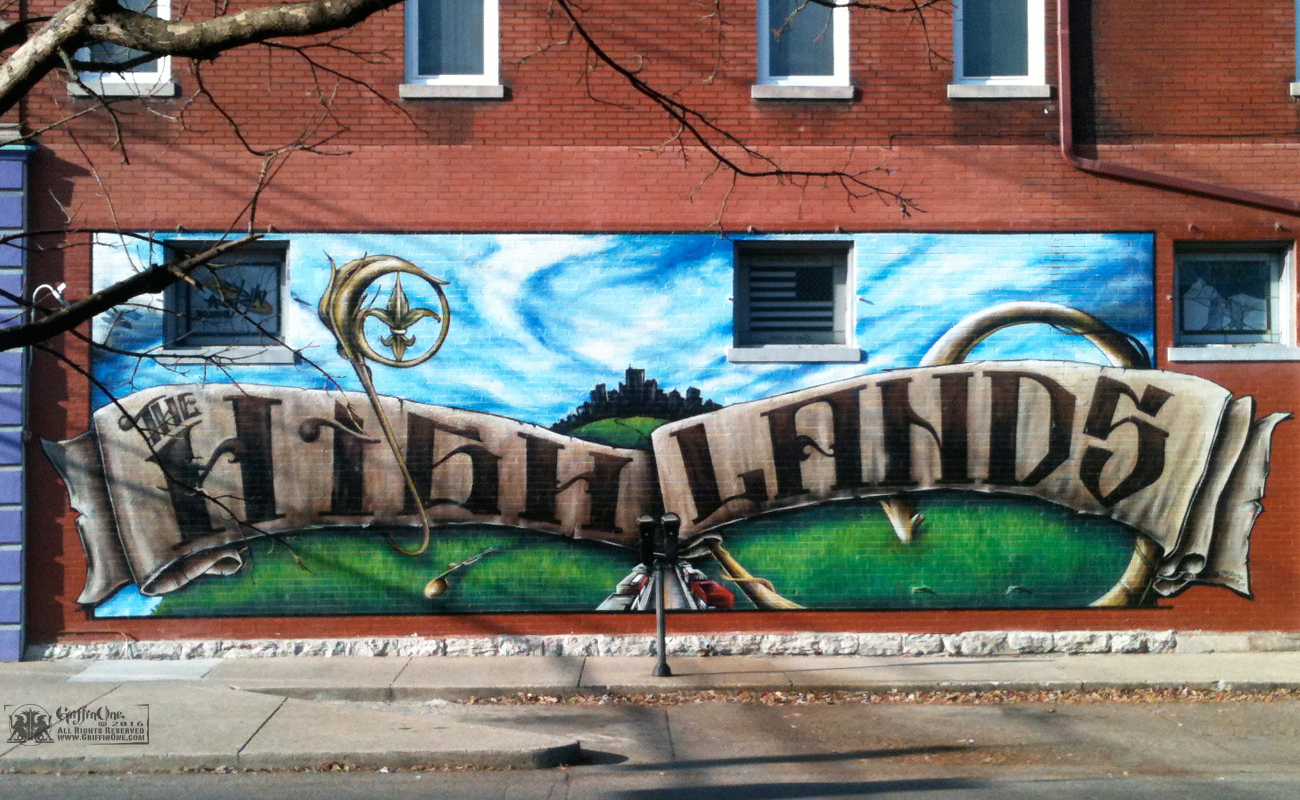 """The HighLands Mural"" - Louisville"