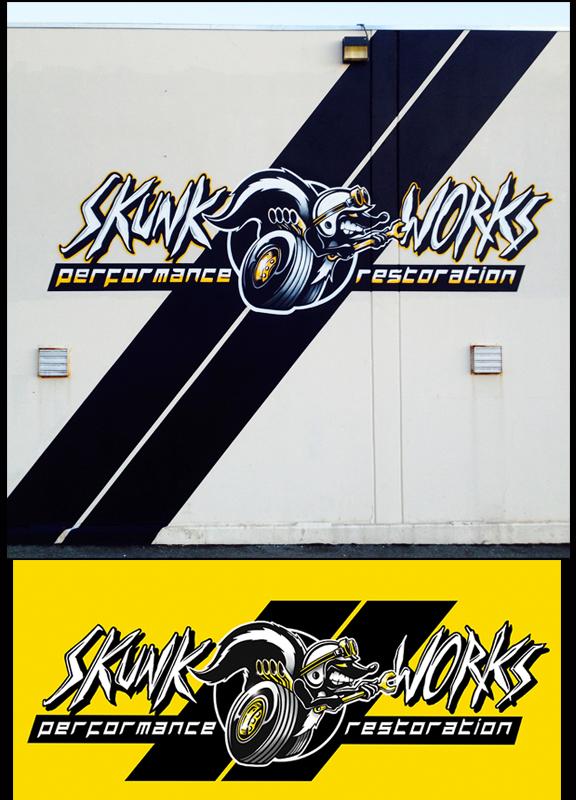 """""""Logo Design & painted Signage """""""