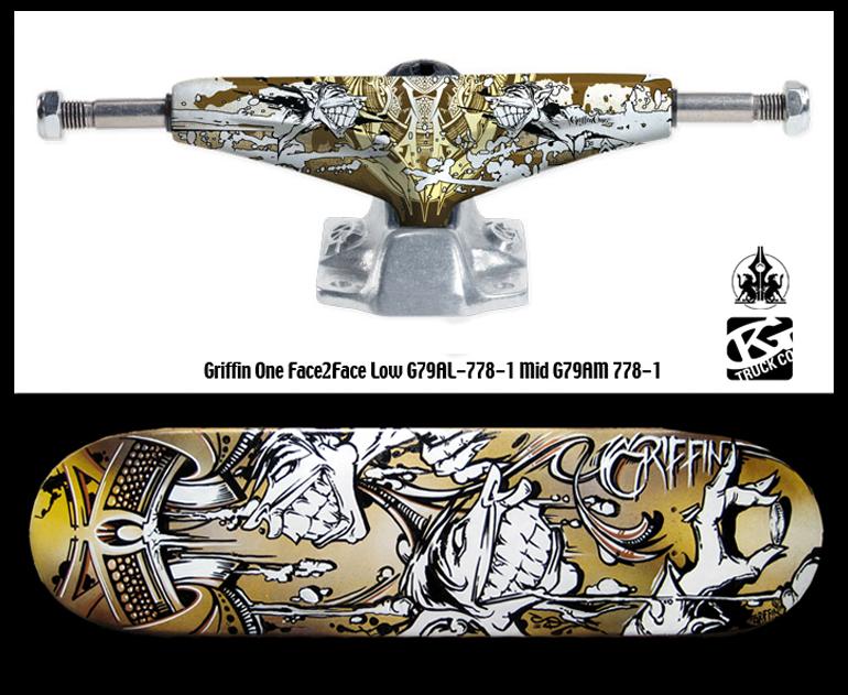 Grind King VS Griffin One - Skate Trucks