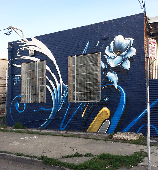 Magnolia Street Mural /