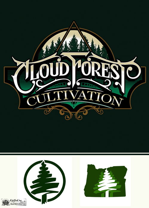 Cloud Forest Cultivation Logo