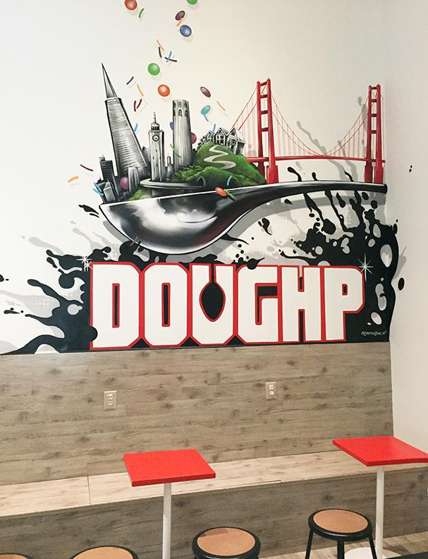 San Francisco Doughp Mural