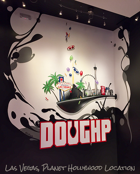New Mural at the Planet Hollywood , Las Vegas Location for Doughp cookie dough store! Griffin One Latest Mural in Vegas 2019