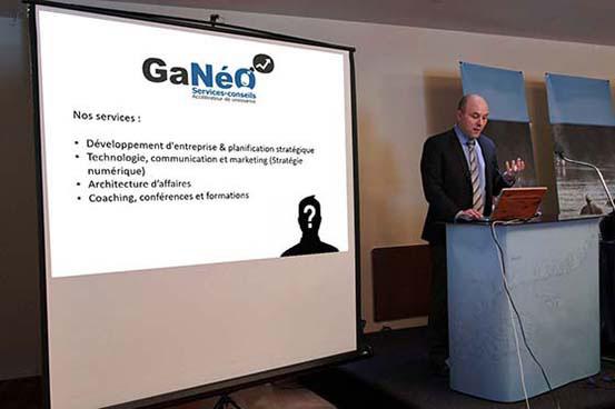Conférence de présentation des services-conseils Ganéo Inc
