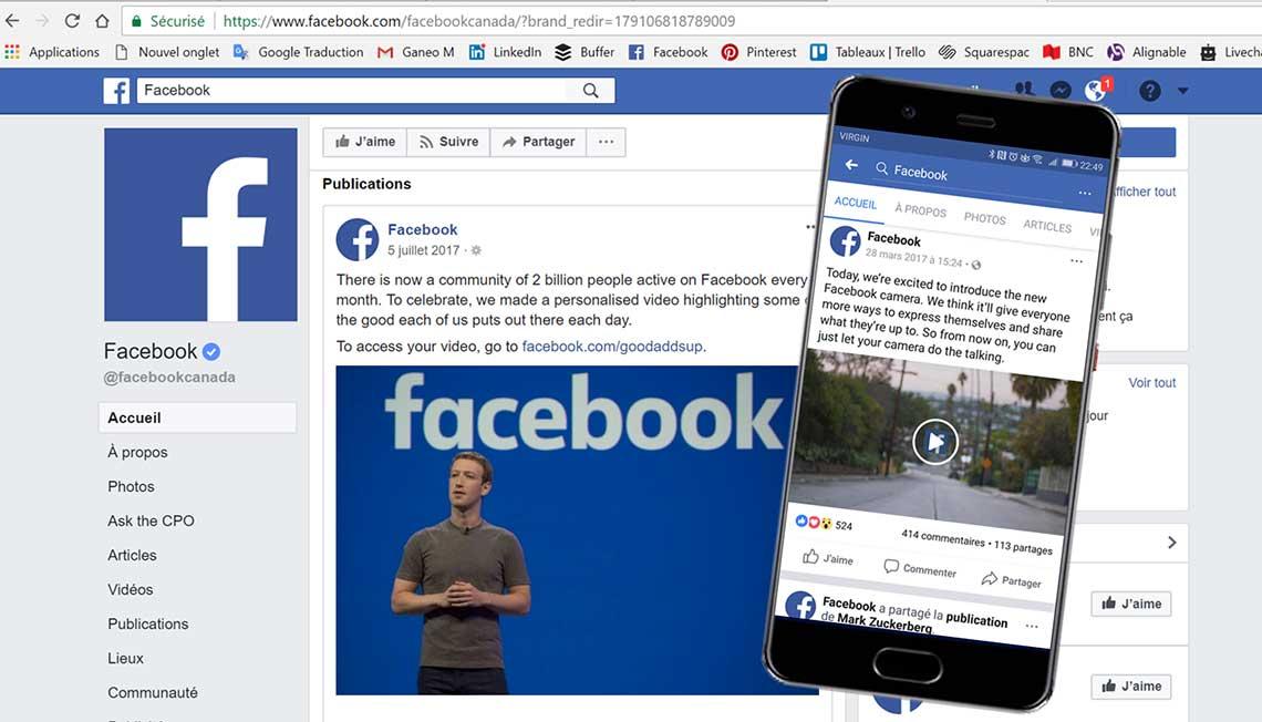 Facebook - marketing - modèle d'affaires - Que se cache-t-il derrière les annonces de Facebook ?
