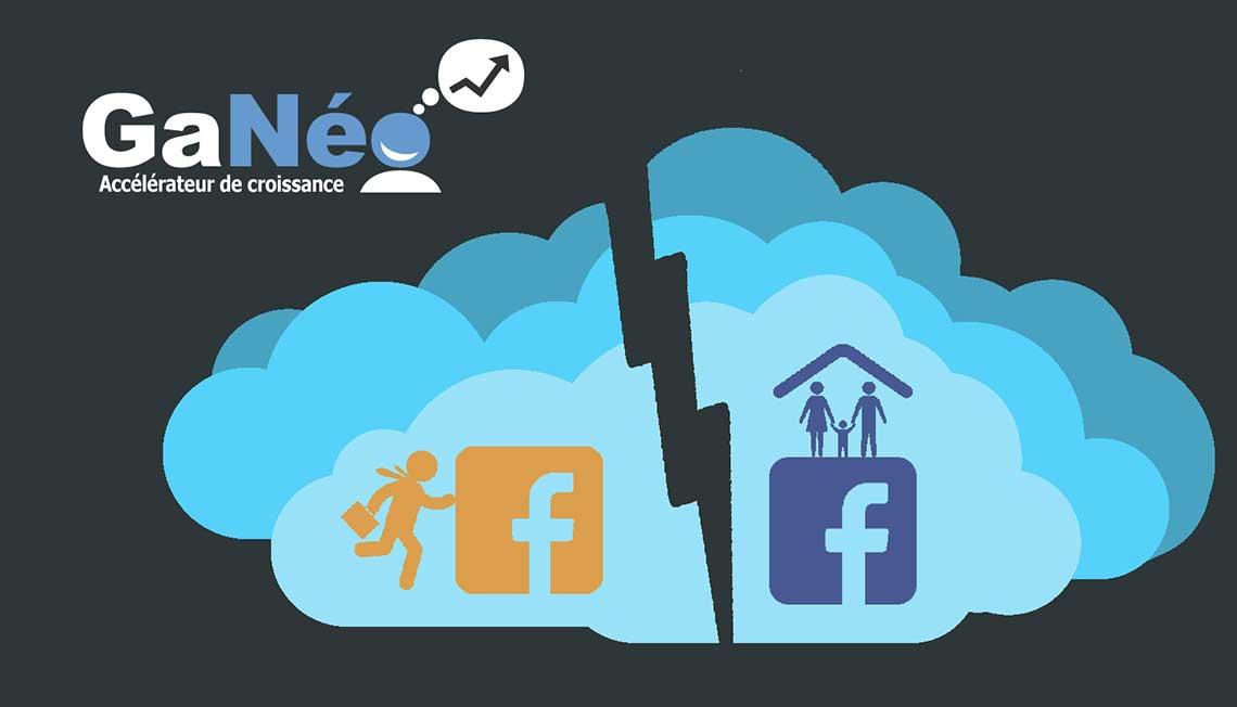 Facebook professionnel - stratégie marketing web numérique