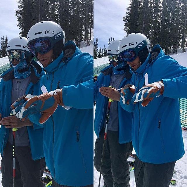 Race Day run 2 prep for @zergish and @awyilds #aspensnowmass #sentientjet #hevert_usa #pocsports #lekiusa #epic #lightson #fastboyz#visitcolorado #snowmagazine