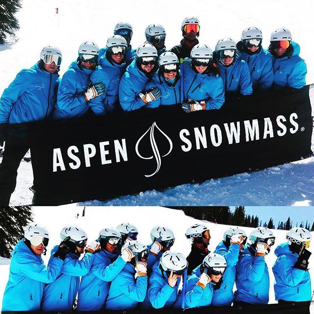 2nd Place AWSC2017! Thank you @aspendivas @aspensnowmass for a Gr8 Competition! Congrats to @theargenteam.  Thinking of you today Hansi @arthaus_aspen  #sentientjet #hevert_usa #snowmagazine #pocsports #lekiusa #epic #visitcolorado