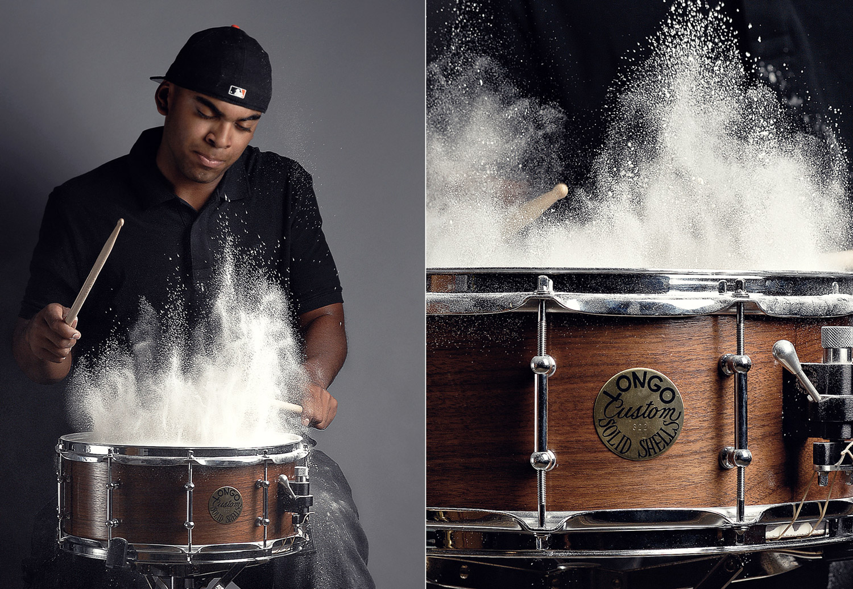 Longo Snare Drums