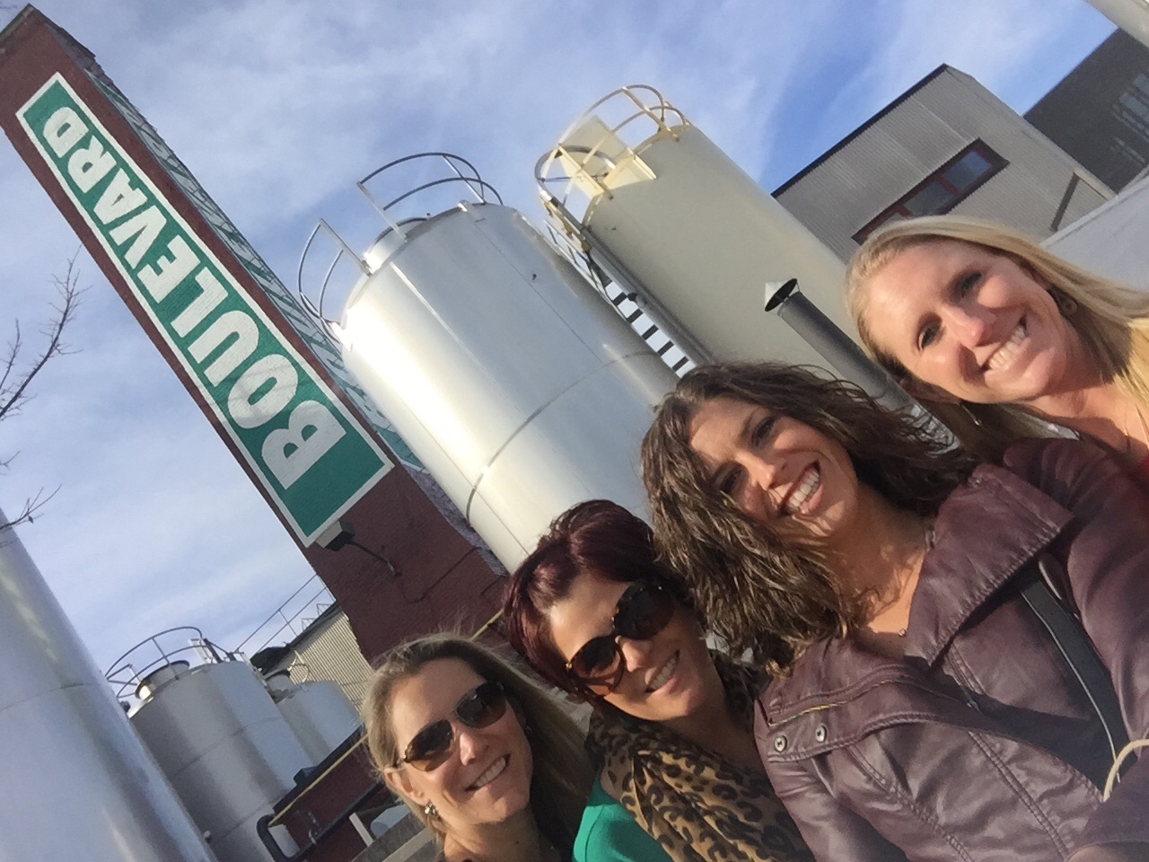 Outside the Boulevard Brewery