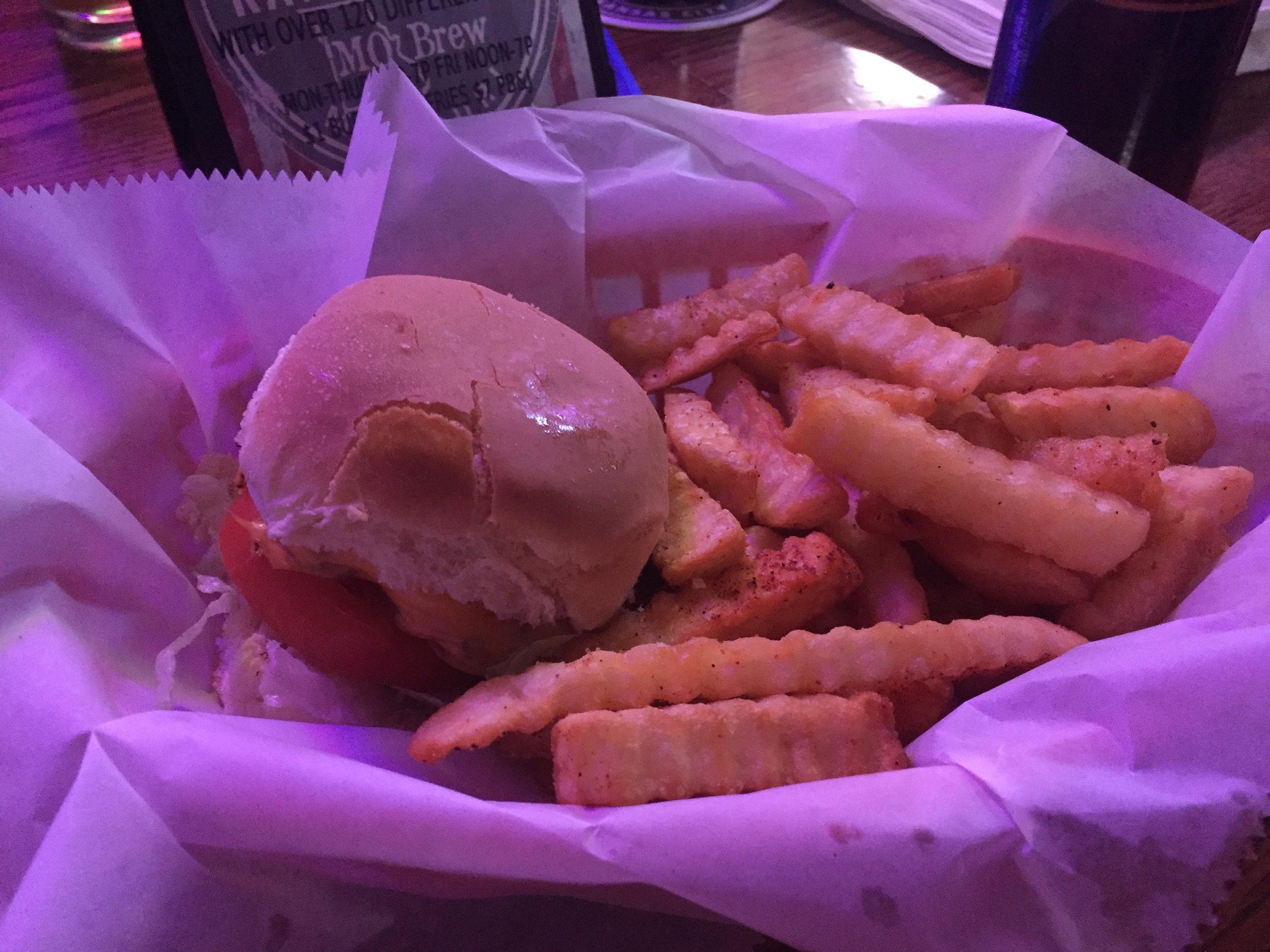 $1 slider & $1 fries!