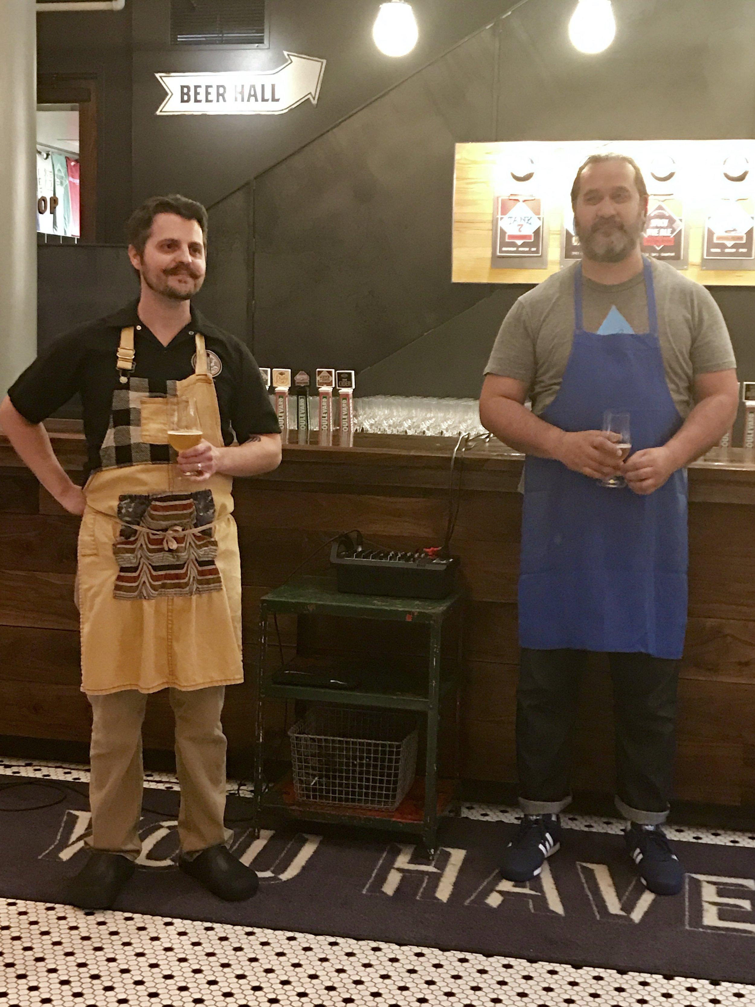 Chef Josh & Chef Howard