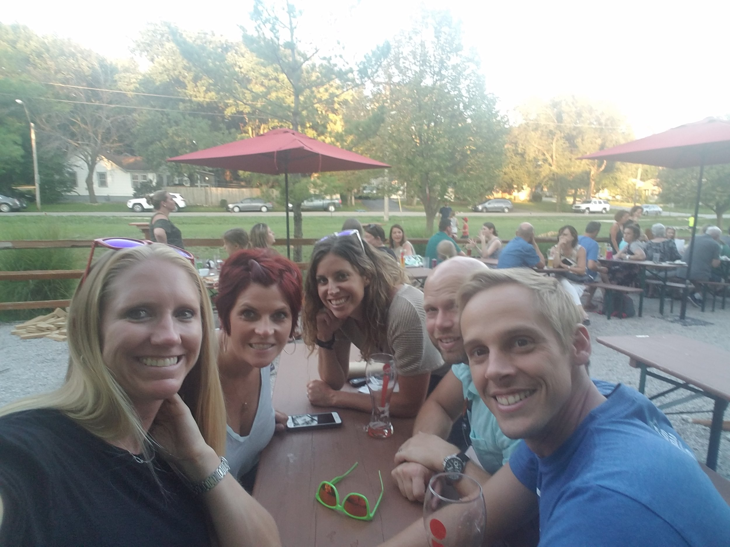 KC Bier Co patio fun!