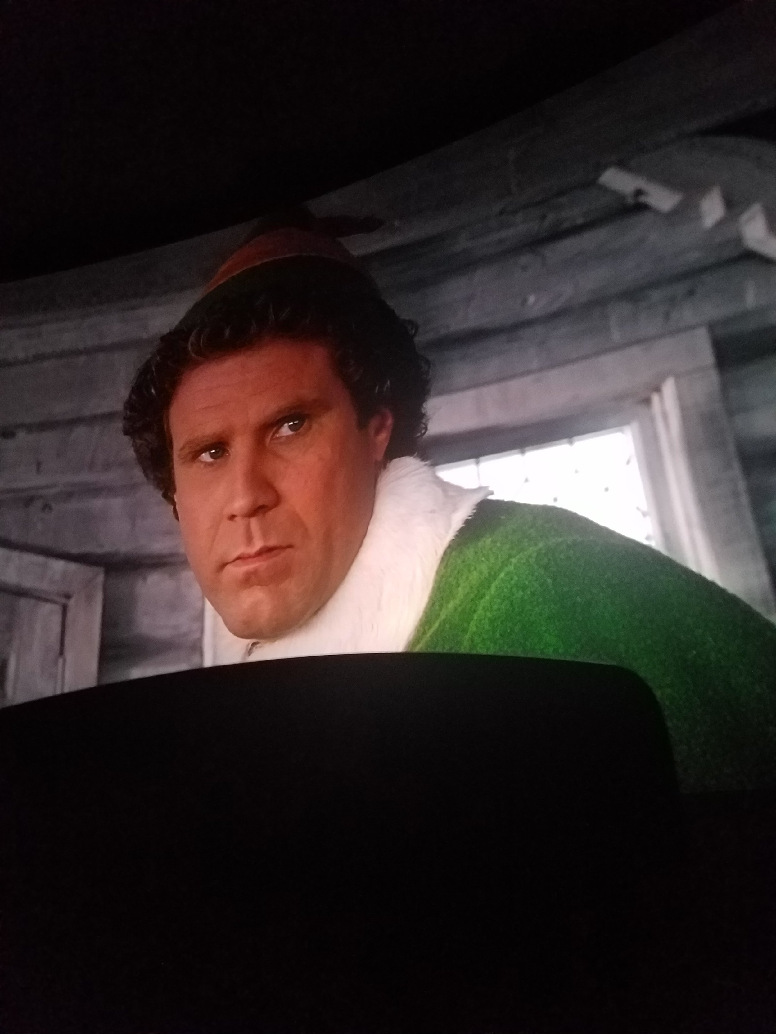 Buddy the Elf - larger than life!