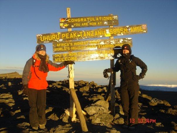 2008-Yes that is Mount Kilimajaro!
