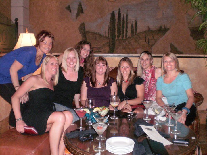 2010-Kristi's Bday...and one of Andrea's first outings with the group!