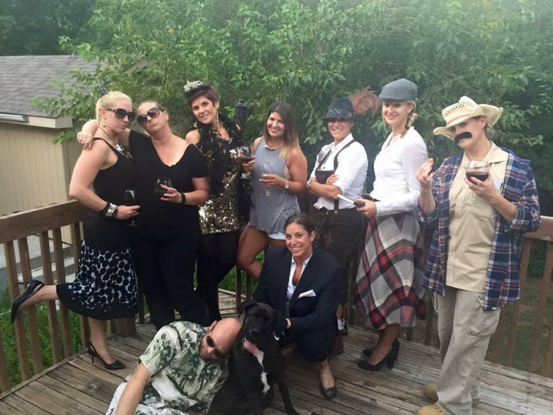2015-Andrea's Bday-Murder Mystery Party