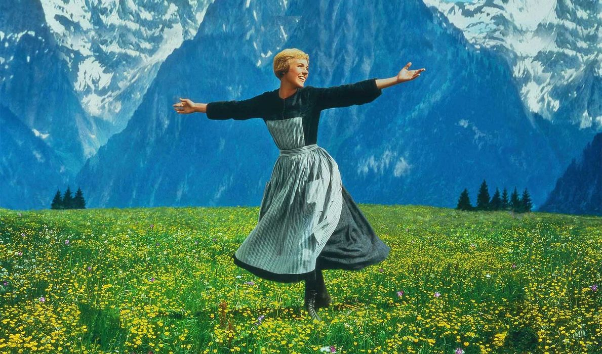 Disclaimer:This is from The Sound of Music website...it is their image...I take no credit for it. This is really a pic of Julie Andrews and not a reenactment or personal image.