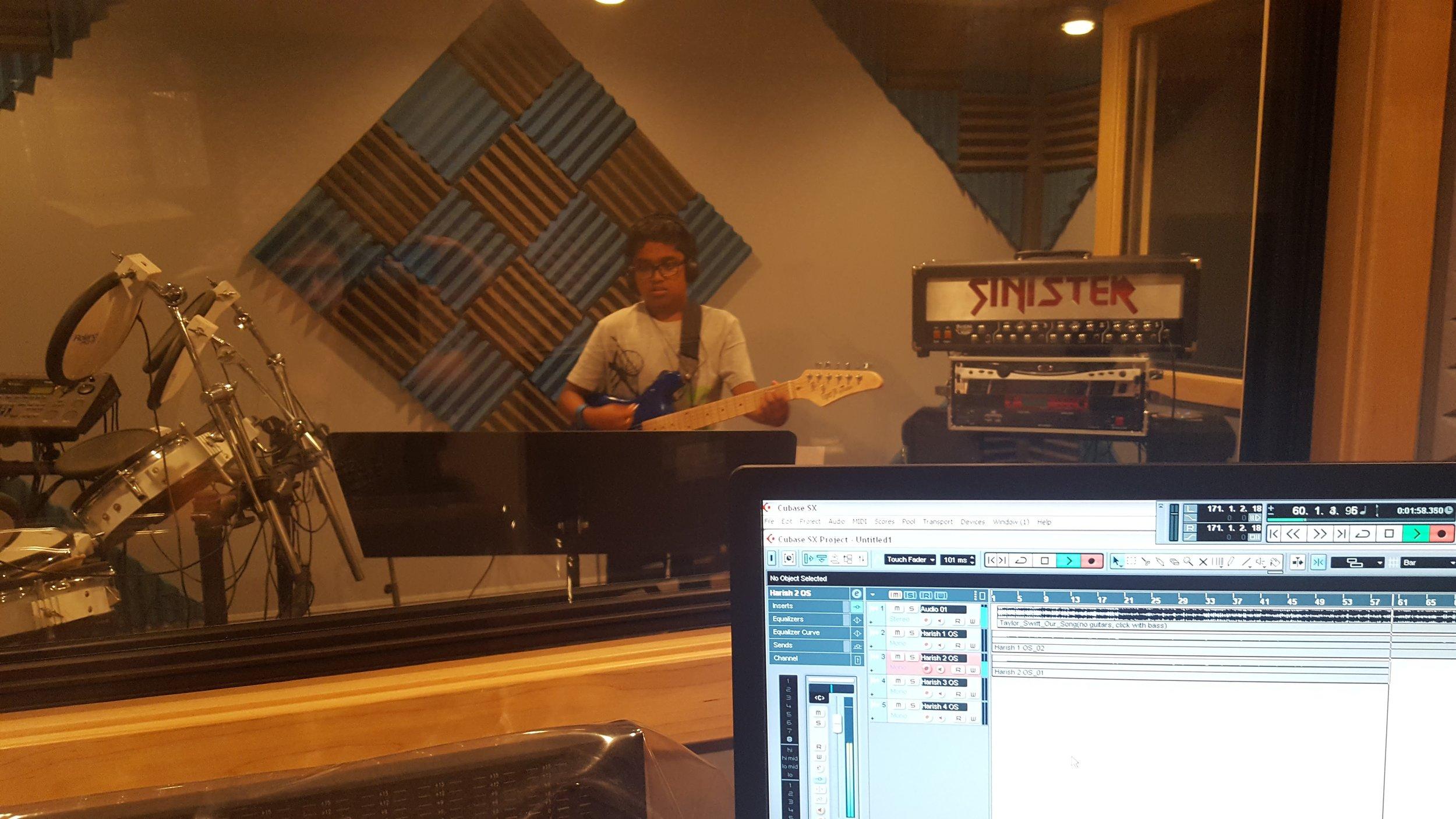 Harish Recording.jpg