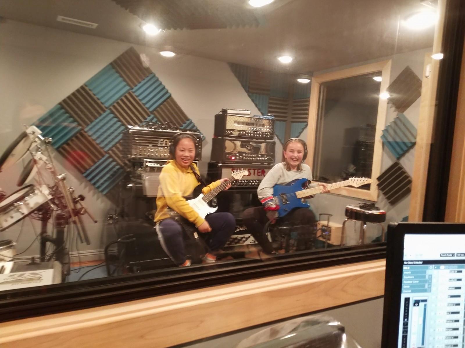 Iris and Morgan Recording.jpg