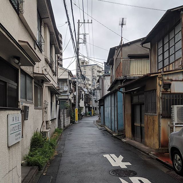 Hikifune street after rain