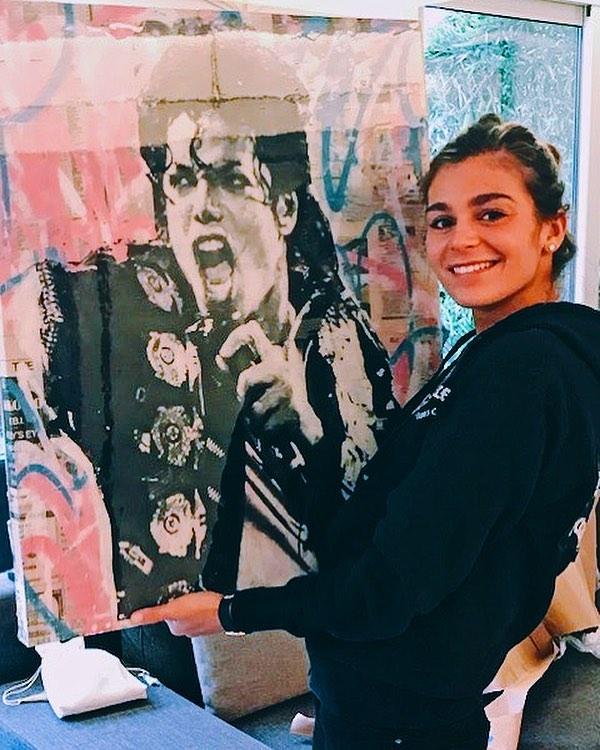 Happy Bday to the King of Pop, Michael Jackson. This custom commission is currently hanging with one of my collectors in Paris! #Rip #SeekOne #MichaelJackson #Paris . . . . . . . . . . . . .  #SeekOne #ContemporaryArt #FineArt #StreetArt #Art #Artist #ArtStudio #Graffiti #ArtCollector #MixedMedia #ArtCollector #MixedMedia #PopArt #Artist #LuxuryLifestyle #AbstractArt #NYCArt #MixedMedia #AbstractArt #Philadelphia #NYC #Hamptons #WallStreet #Bridgehampton #MiamiArt