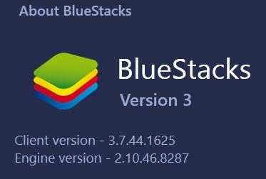 Bluestacks Version 3 specifics