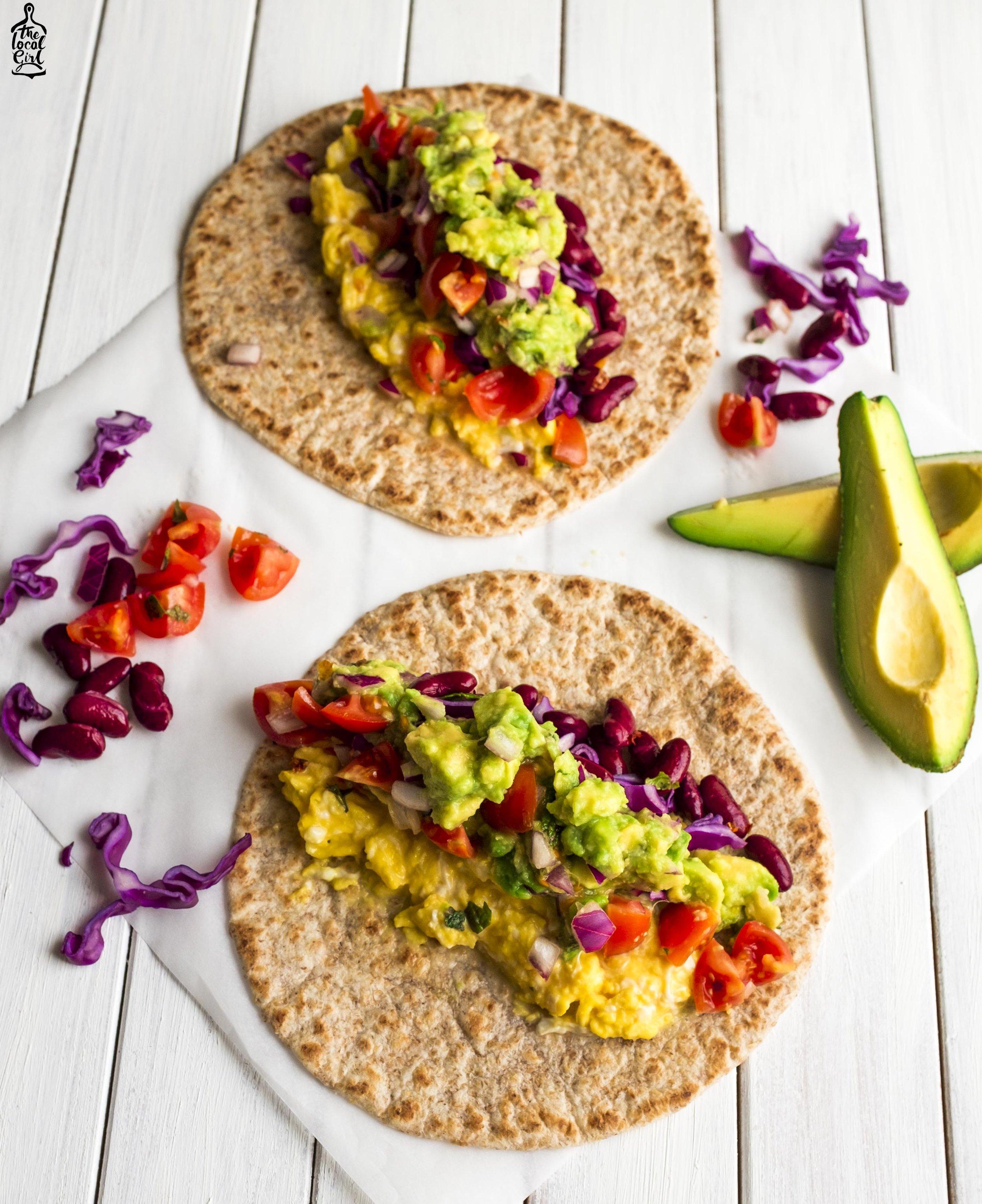 huevos ranches burrito