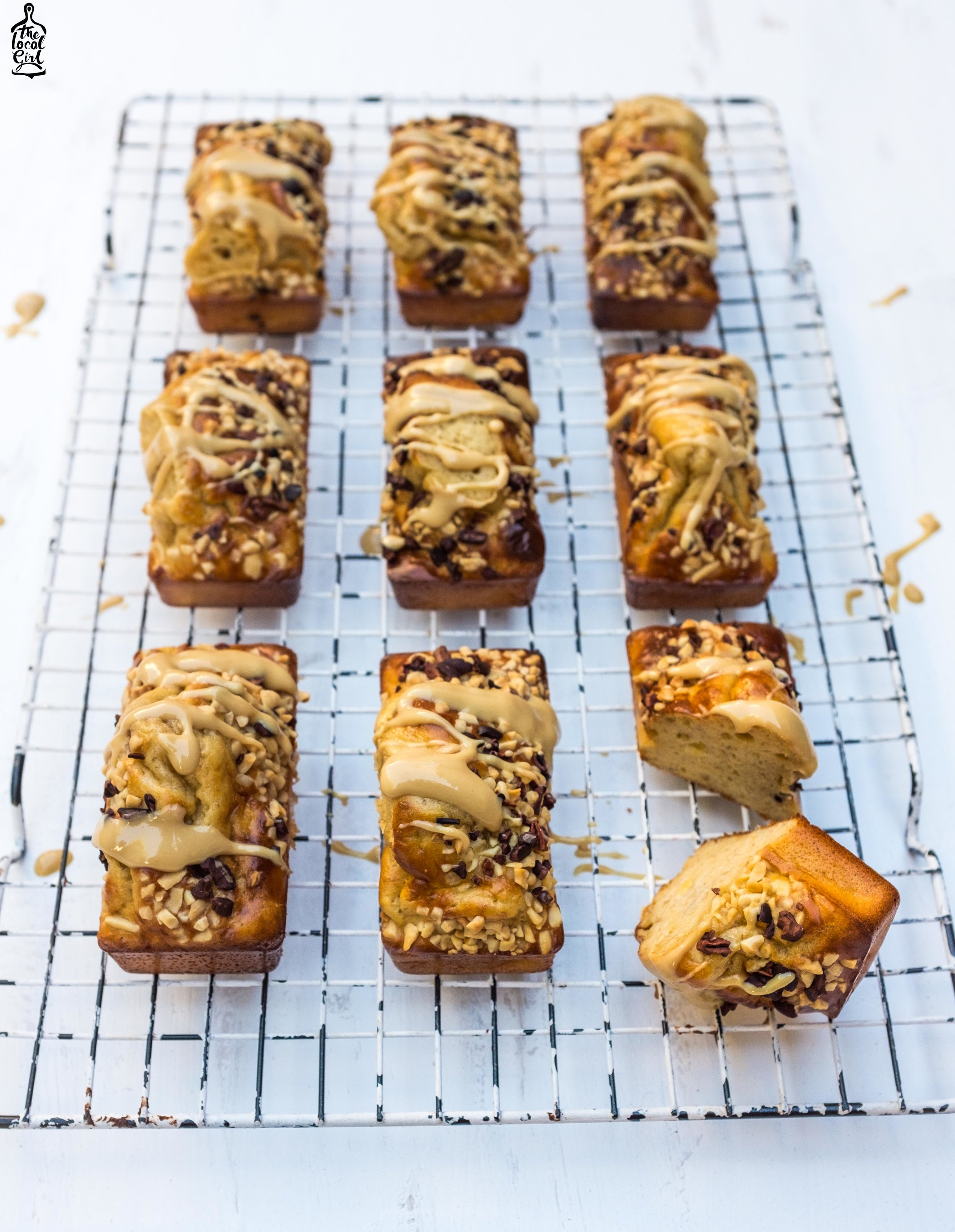 Peanut Butter Protein Loaves