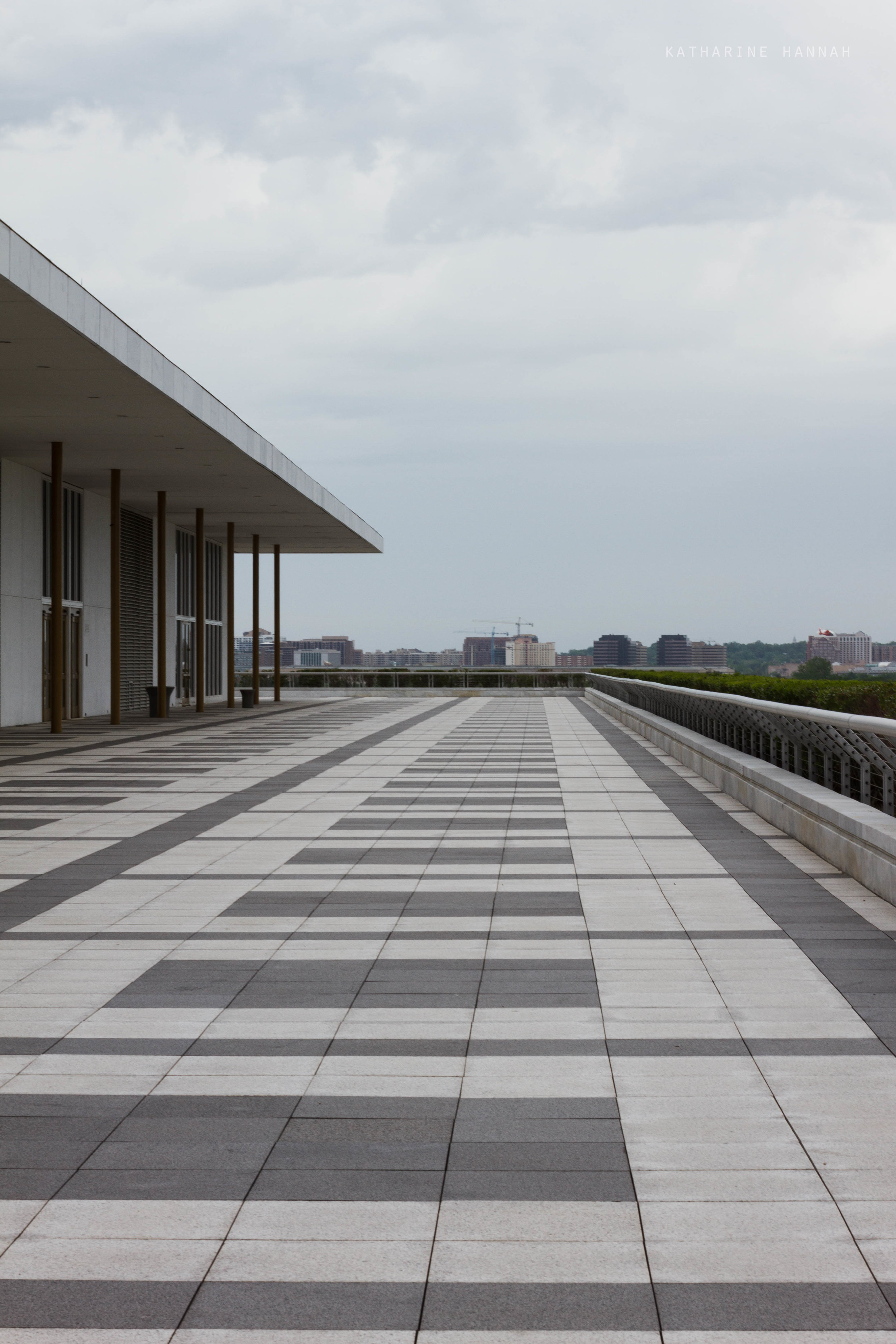 John F Kennedy Center back porch