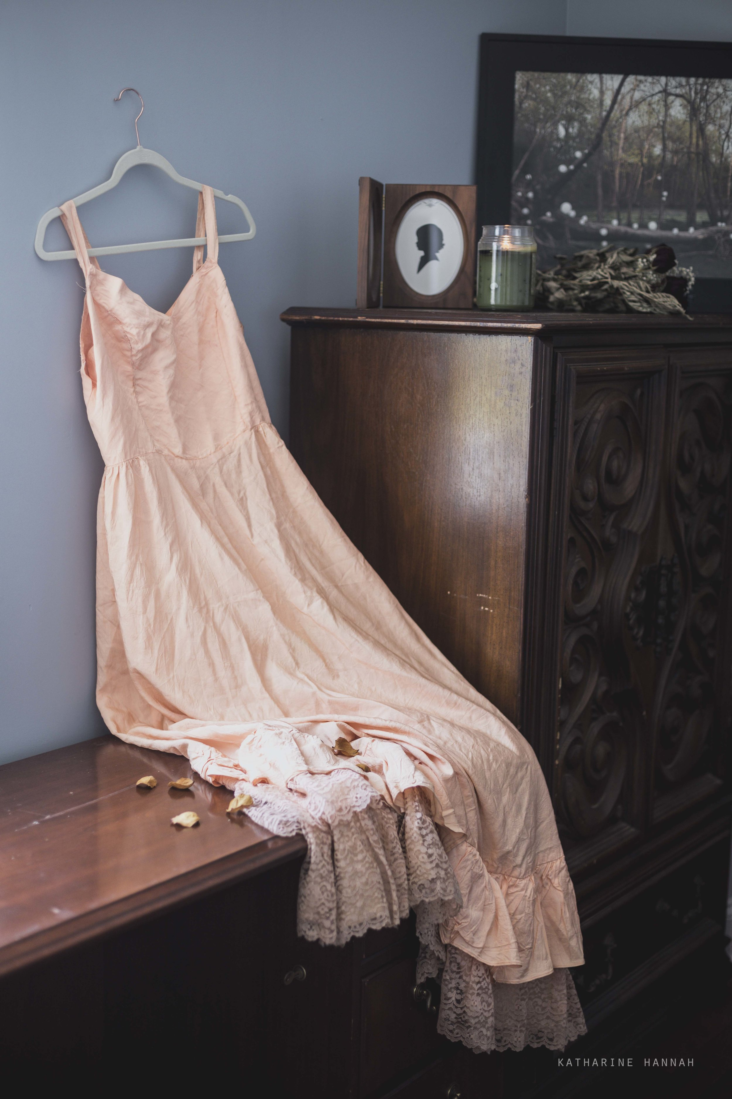 Chicago portrait photographer's dress for clients to wear in shoots
