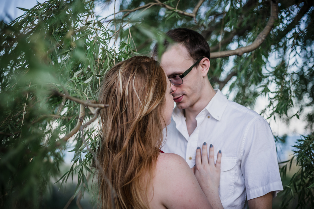 Romantic and intimate Loyola beach engagement pictures