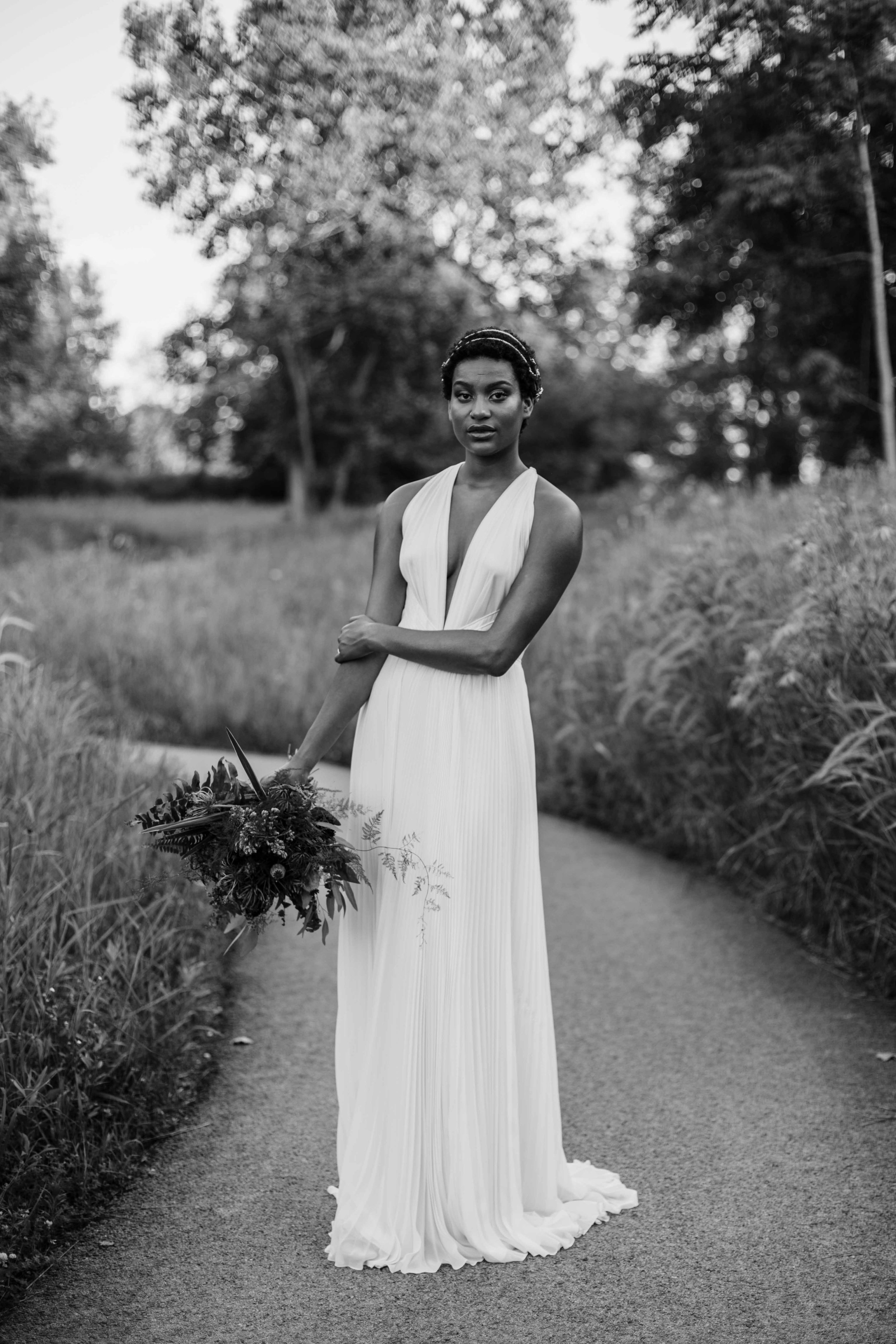 Chicago elopement inspiration session on the north side