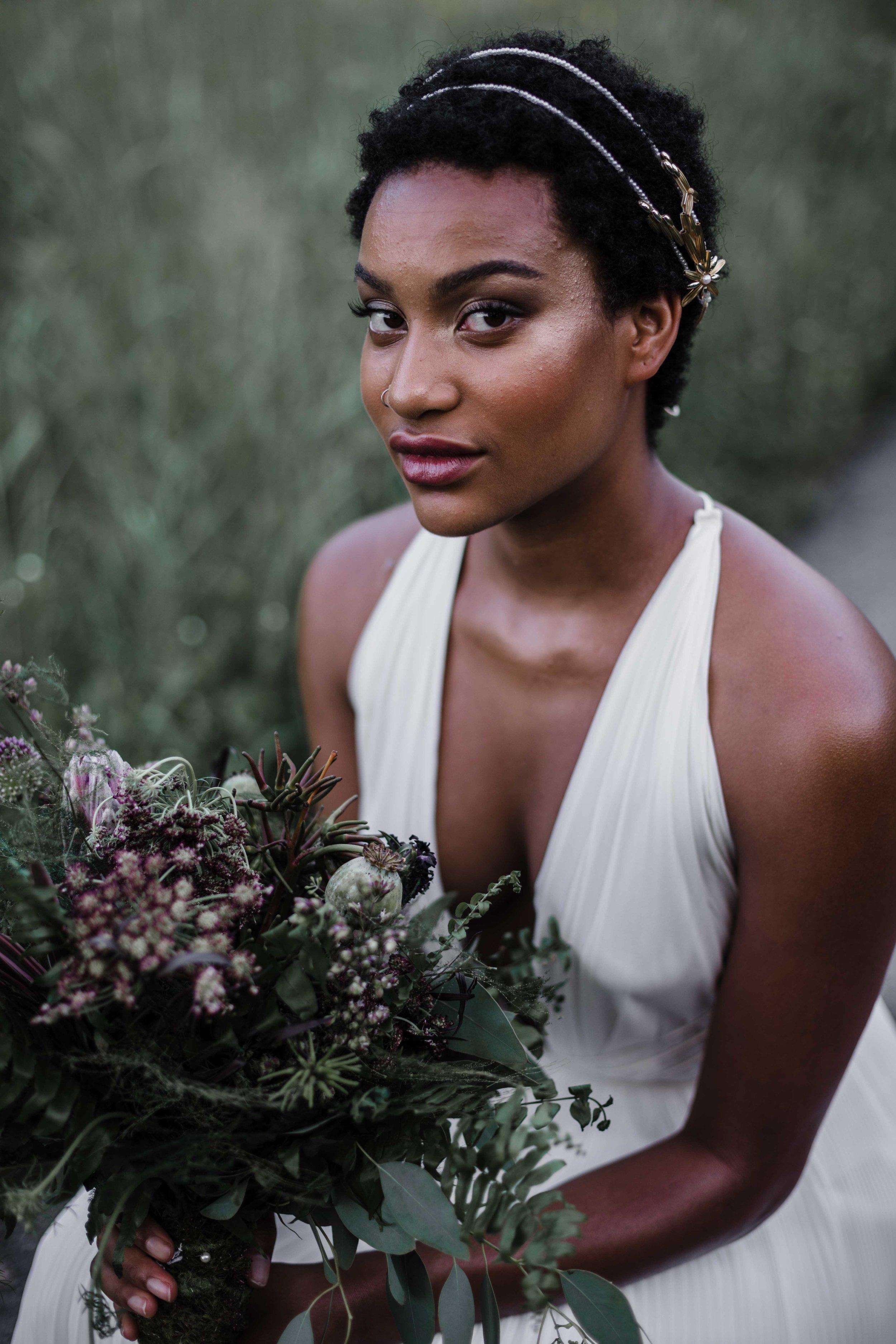 Chicago bridal inspiration photography