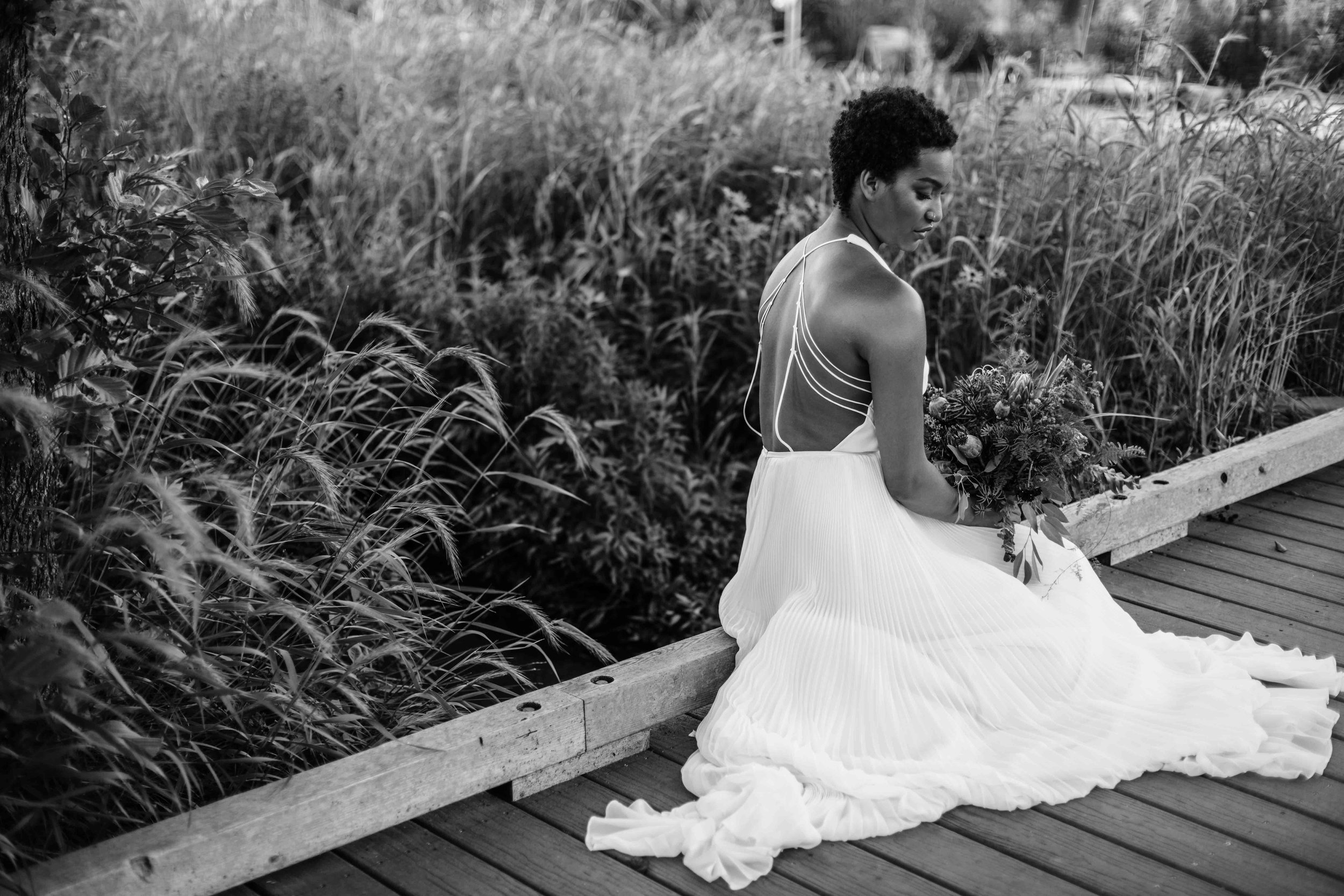 Elopement inspiration photography in Chicago