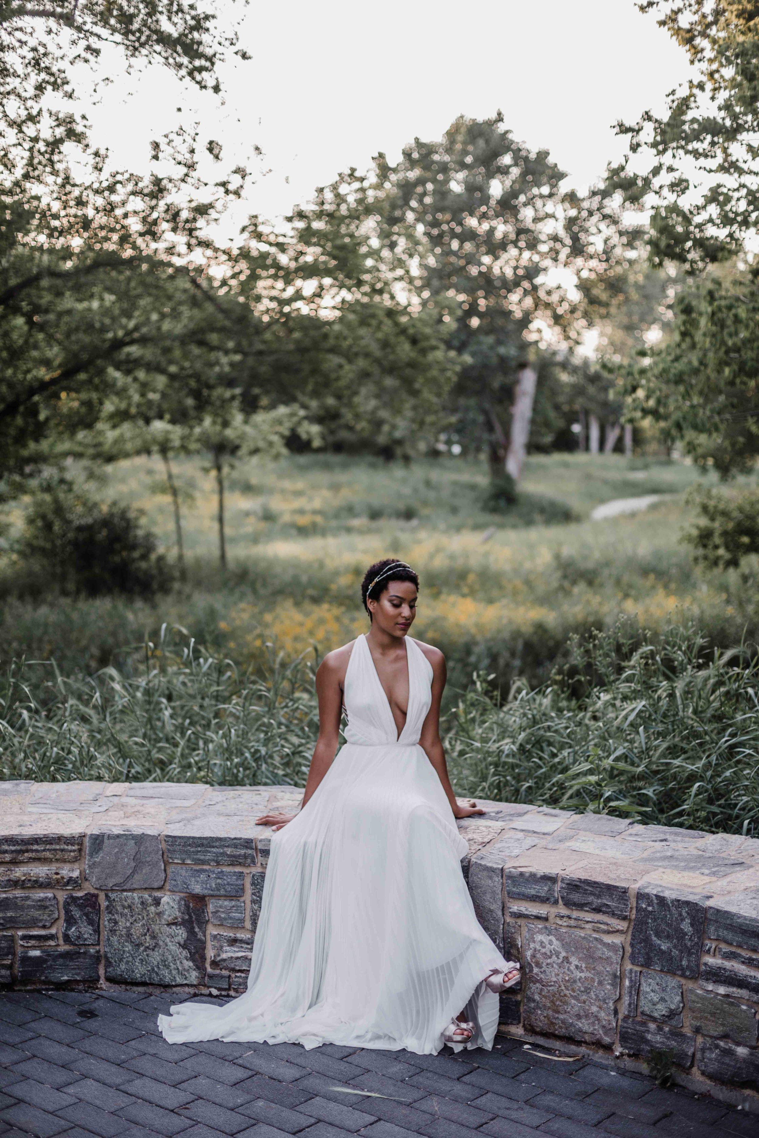 Bridal elopement photography inspiration