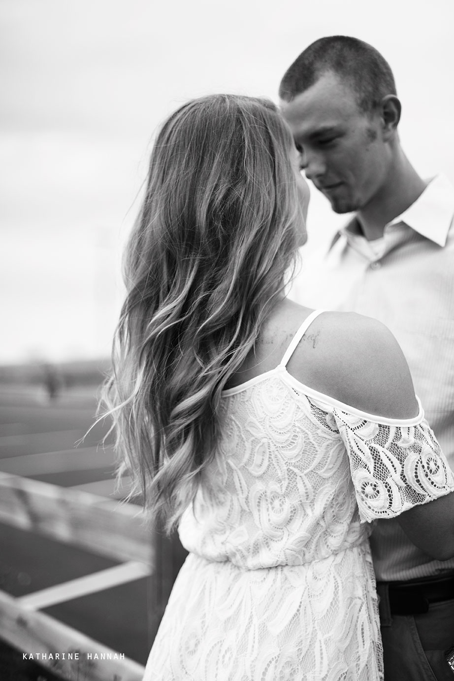 County Line Orchard engagement session by Katharine Hannah