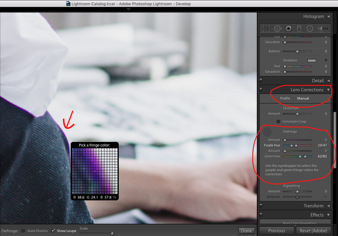 What's Chromatic Aberration and How Do You Fix it? A simple, visual guide on how to fix chromatic aberration in Photoshop and Lightroom