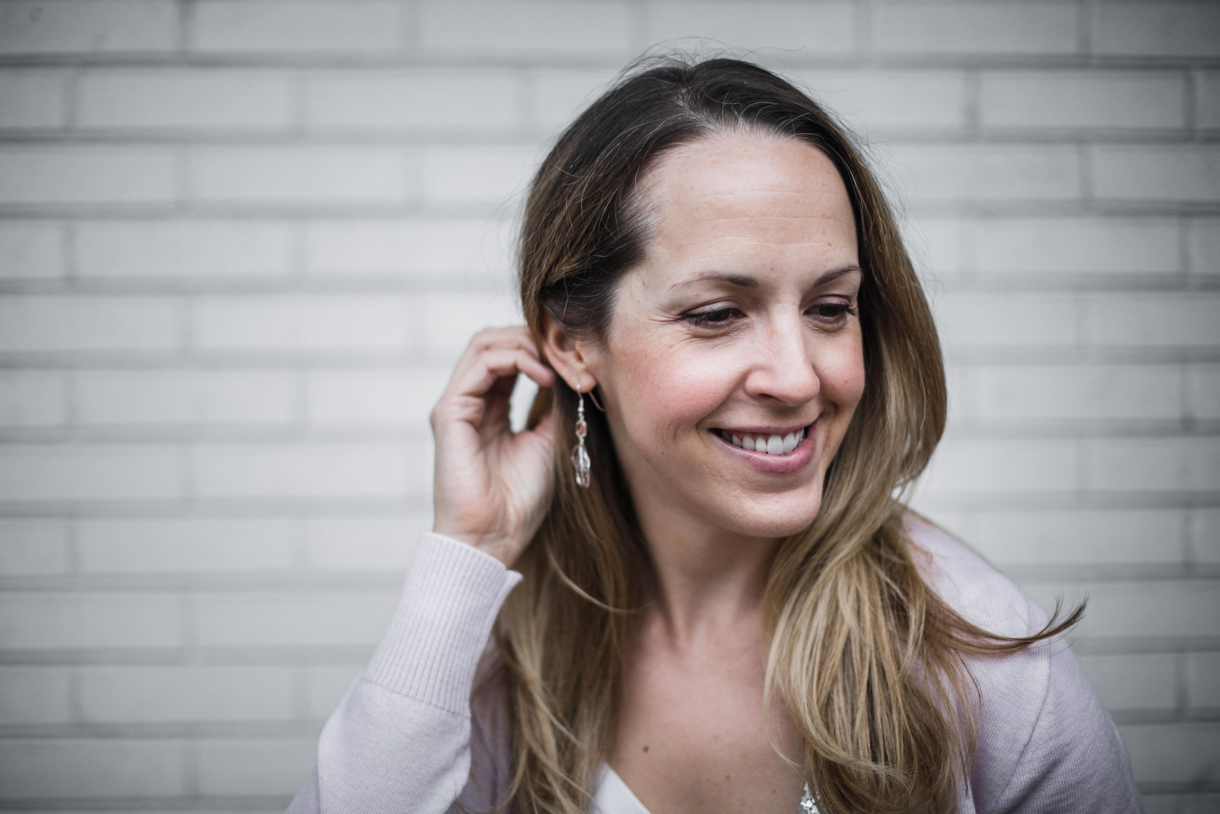 Stacy Mikulik, owner of grace + hudson for Inspired Chicago feature series