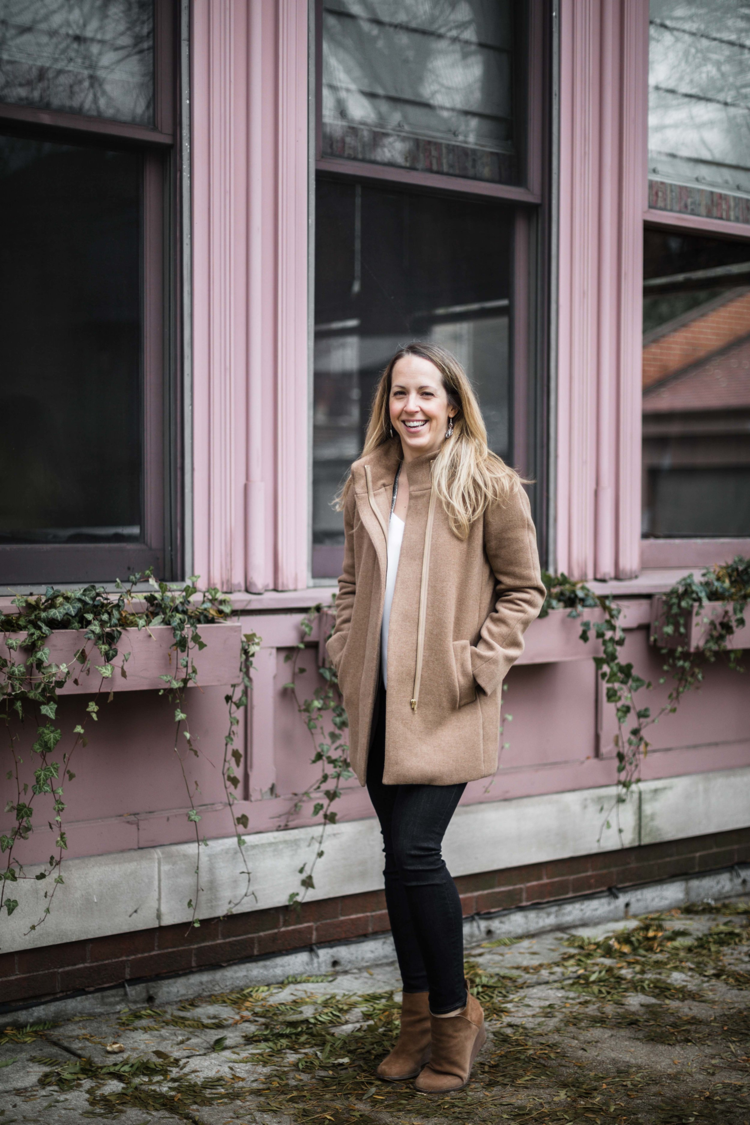 grace + hudson owner Stacy interviewed for entrepenurial women feature series  Inspired Chicago