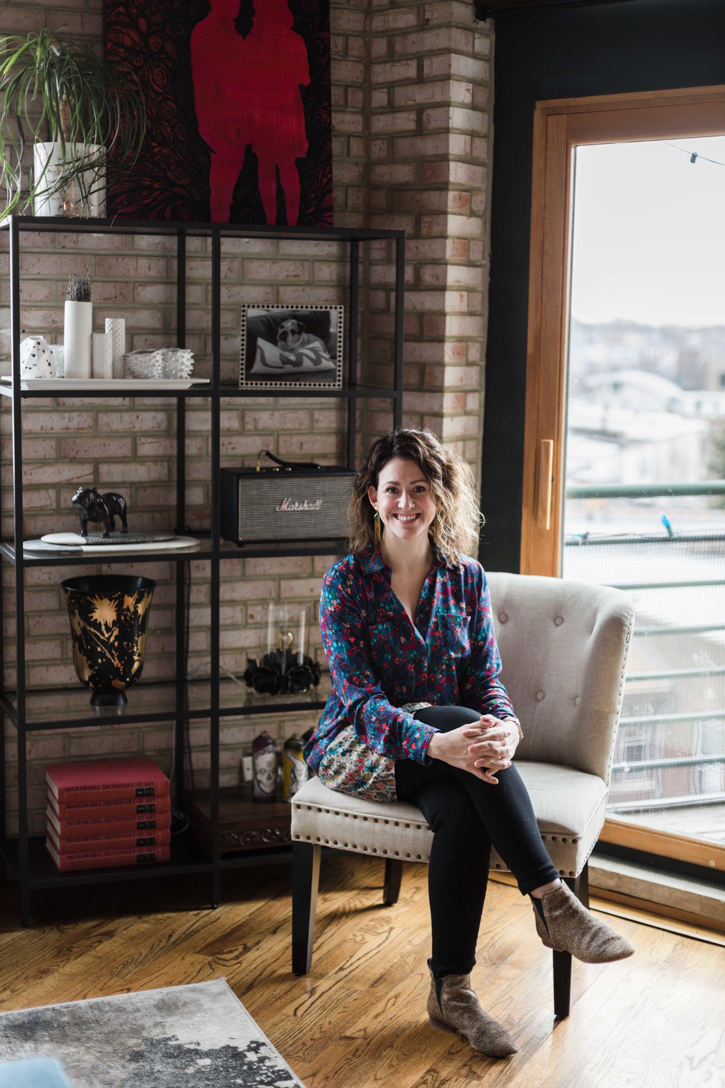 Amanda Wolfson freelance prop stylist photographed by Katharine Hannah