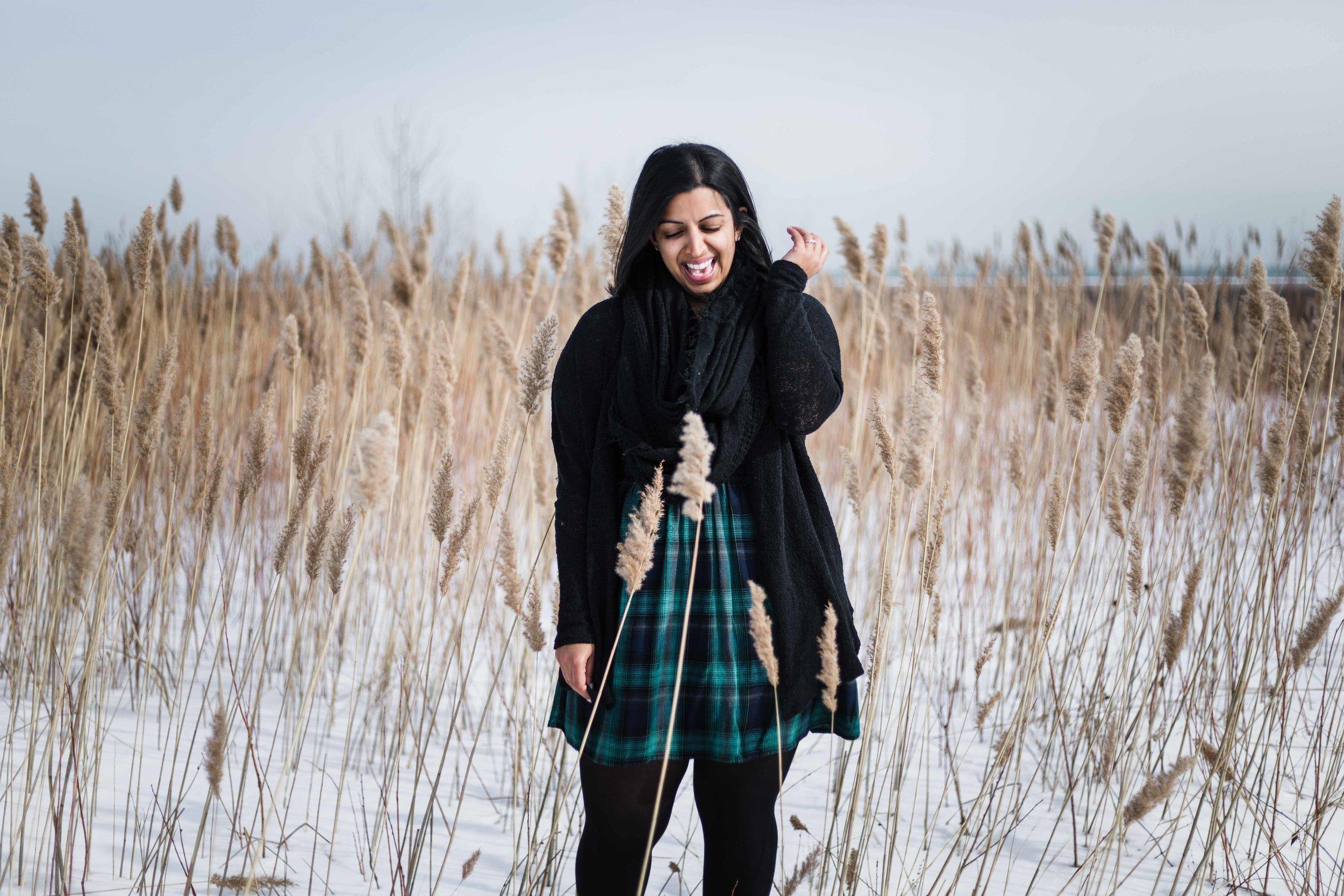 Chicago headshot and branding photographer interviews Maya of Preoccupied Bride in Evanston