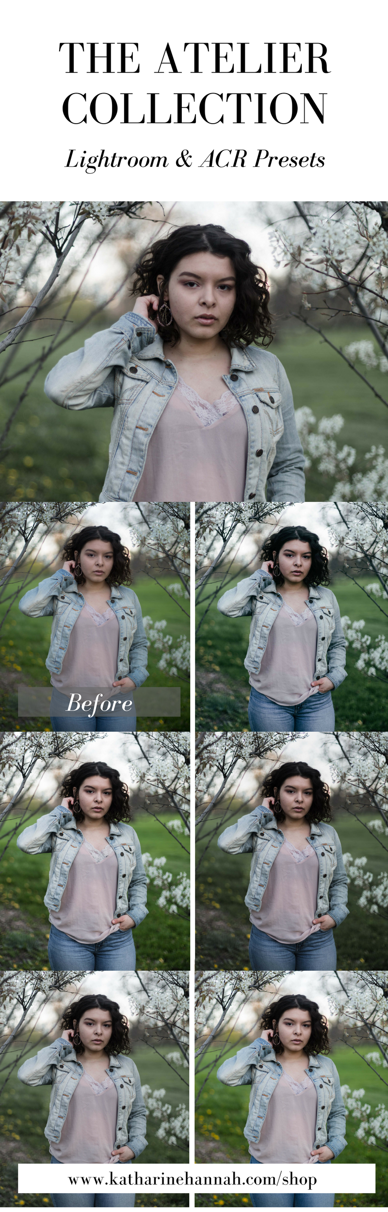 Lightroom & ACR Presets by Katharine Hannah Photography | The Atelier Collection was designed was designed with subtle & clean color shifts, perfect for indoor portraits or cloudy days.