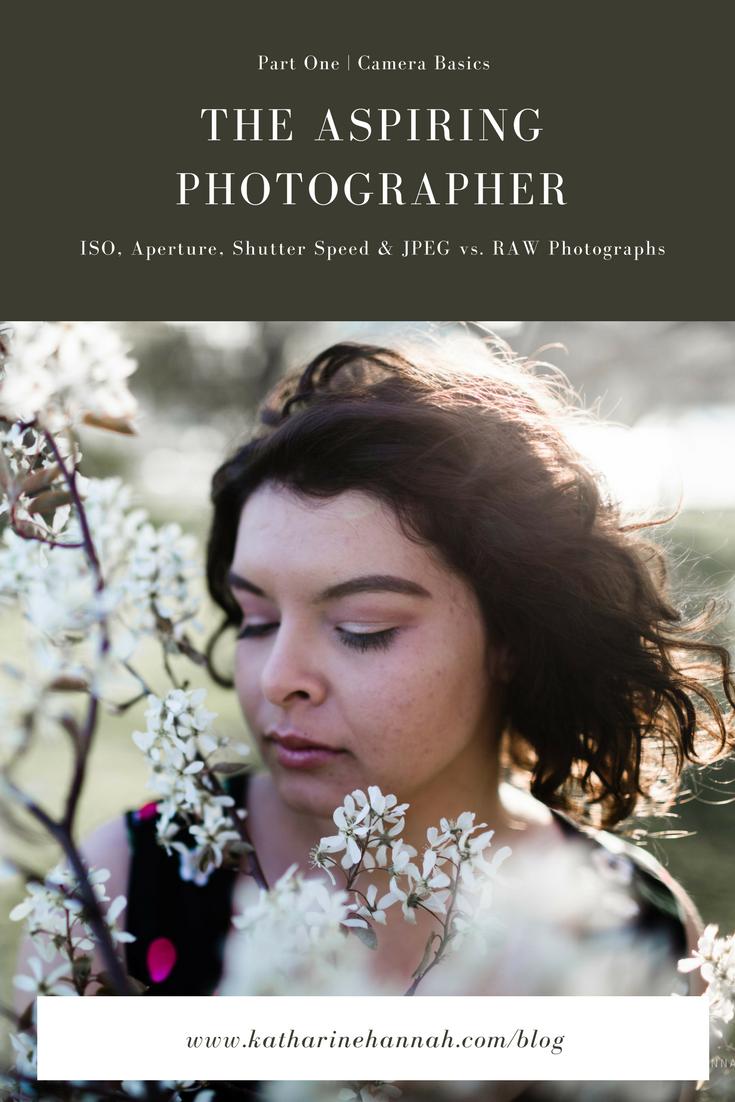 The Aspiring Photographer series week one, camera basics by Katharine Hannah