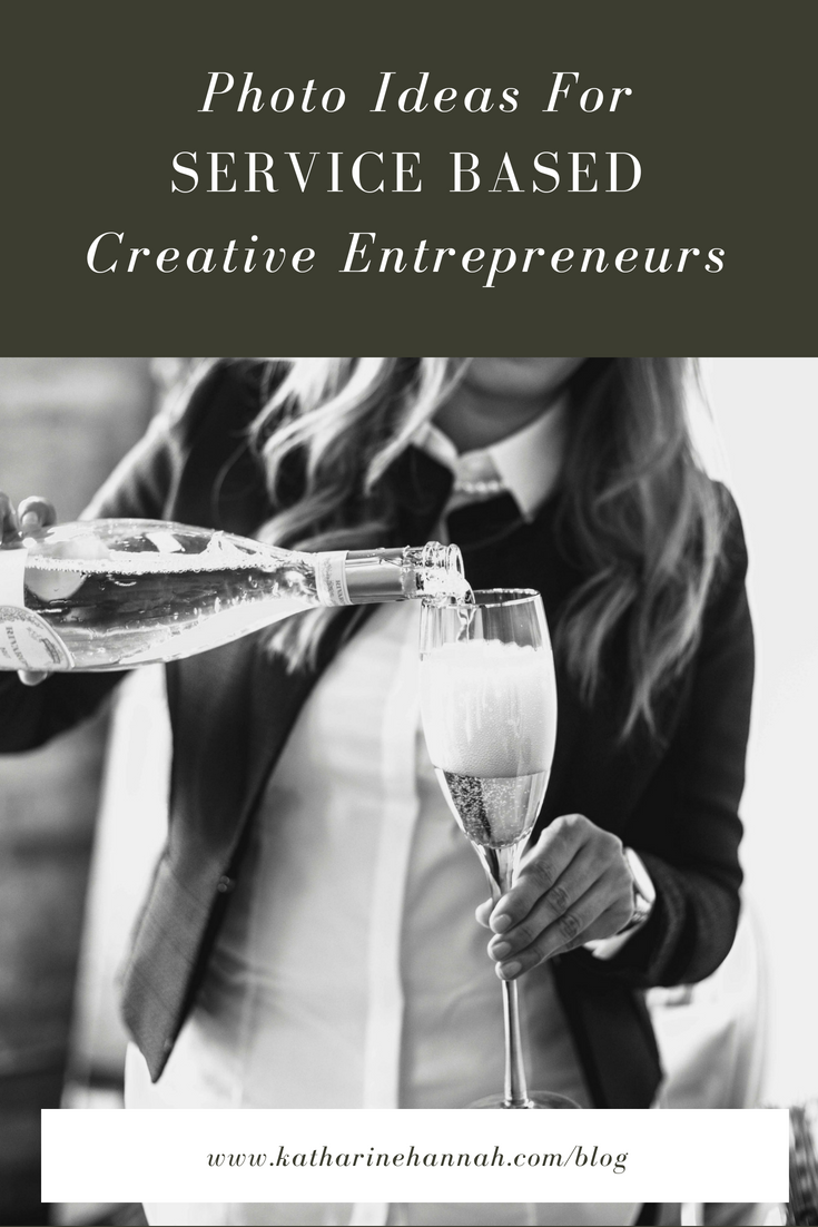 Photo ideas for service based creative etnrepreneurs
