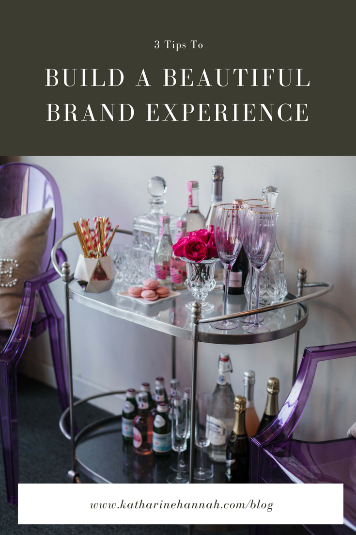 3 tips to build a beautiful brand experience for creative entrepreneurs through personal brand photography